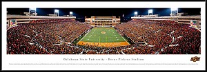 Oklahoma State University Framed Stadium Picture 3