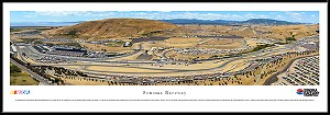 Sonoma Raceway Framed Panoramic Picture