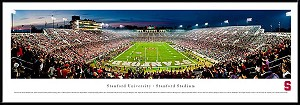 Stanford University Framed Stadium Picture