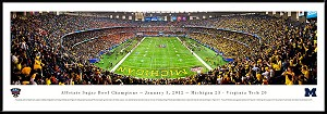 2012 Sugar Bowl Louisiana Superdome Framed Stadium Picture