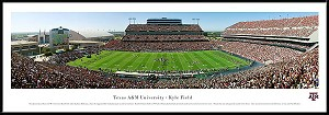 Texas A&M University Framed Stadium Picture