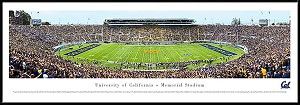 University Of California Framed Memorial Stadium Picture