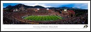 University Of Colorado Framed Stadium Picture