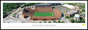 University Of Iowa Framed Stadium Picture