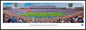 University Of Kentucky Framed Stadium Picture