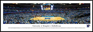 University of Memphis Framed Arena Picture