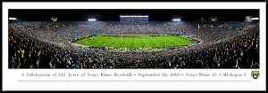 University Of Notre Dame Framed Stadium Picture 3