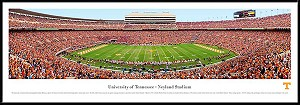 University Of Tennessee Framed Stadium Picture