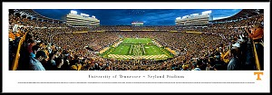 University Of Tennessee Framed Neyland Stadium Picture