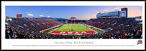 University Of Utah Framed Rice Eccles Stadium Picture