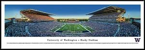 University Of Washington Huskies Framed Stadium Picture 4