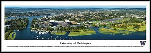 University Of Washington Huskies Framed Stadium Picture 5
