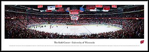 University Of Wisconsin Framed Arena Picture