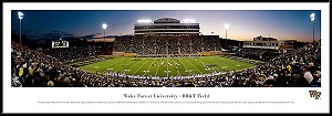 Wake Forest University Framed Stadium Picture