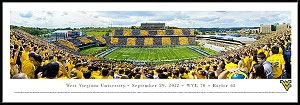 West Virginia University Framed Milan Puskar Stadium Picture 3