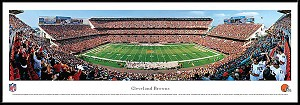 Cleveland Browns Framed Stadium Picture