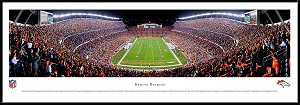 Denver Broncos Framed Stadium Picture 2