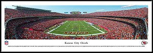 Kansas City Chiefs Framed Arrowhead Stadium Picture