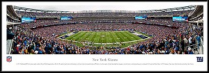 New York Giants Framed Stadium Picture