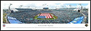 Jacksonville Jaguars Framed Everbank Field Stadium Picture