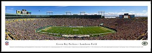 Green Bay Packers Framed Stadium Picture