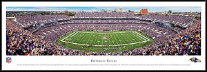 Baltimore Ravens Framed Stadium Picture