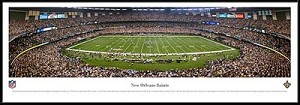 New Orleans Saints Framed Stadium Picture