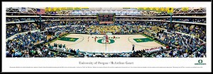 University Of Oregon McArthur Court Framed Stadium Picture