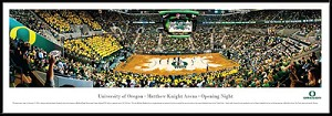 University Of Oregon Matthew Knight Arena Framed Stadium Picture
