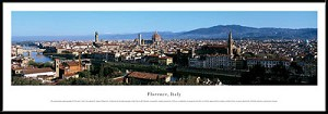 Florence, Italy Framed Skyline Picture