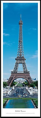 Eiffel Tower, Paris, France Framed Skyline Picture 3
