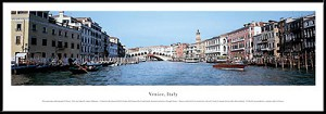 Venice, Italy Framed Skyline Picture 1