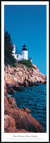 Bass Harbor Head Lighthouse Framed Picture