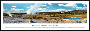 Yellowstone National Park Framed Skyline Picture 2