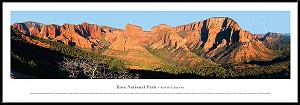 Zion National Park Framed Skyline Picture 3