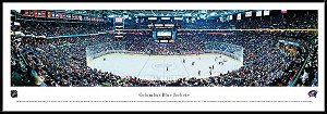 Columbus Blue Jackets Framed Arena Picture