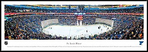 Winnipeg Jets Framed Arena Picture