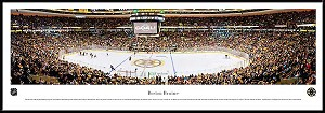 Boston Bruins Framed Arena Picture