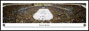 Boston Bruins Framed Arena Picture 2
