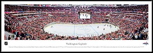 Washington Capitals Framed Arena Picture
