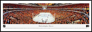 Philadelphia Flyers Wells Fargo Center Framed Arena Picture
