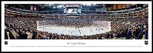 Los Angeles Kings Staples Center Framed Arena Picture