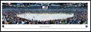 Edmonton Oilers Framed Arena Picture