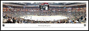 Pittsburgh Penguins Framed Arena Picture
