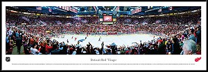 Detroit Red Wings Framed Arena Picture