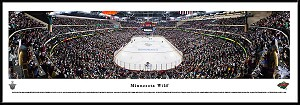 Minnesota Wild Framed Arena Picture 2