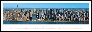 New York, New York Framed Skyline Picture 14