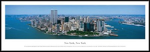 New York, New York Framed Skyline Picture 6