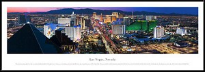 Las Vegas, Nevada Framed Skyline Picture 5
