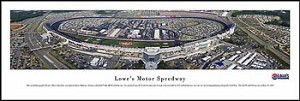 Lowe's Motor Speedway Skyline Picture